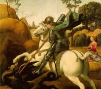 Rafaelov Sveti Đorđe – slika koja je proputovala svet