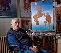 Željko Radović: Zapisi iz ateljea, portreti umetnika na izložbi fotografija