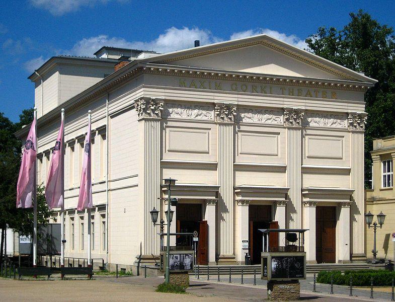 Maksim Gorki- Maxim Gorki Theater, Berlin Mitte