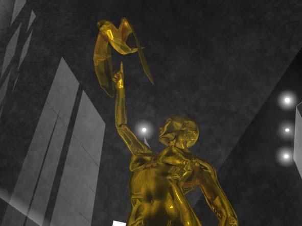 Olja Ivanjicki, skulptura Pobednice