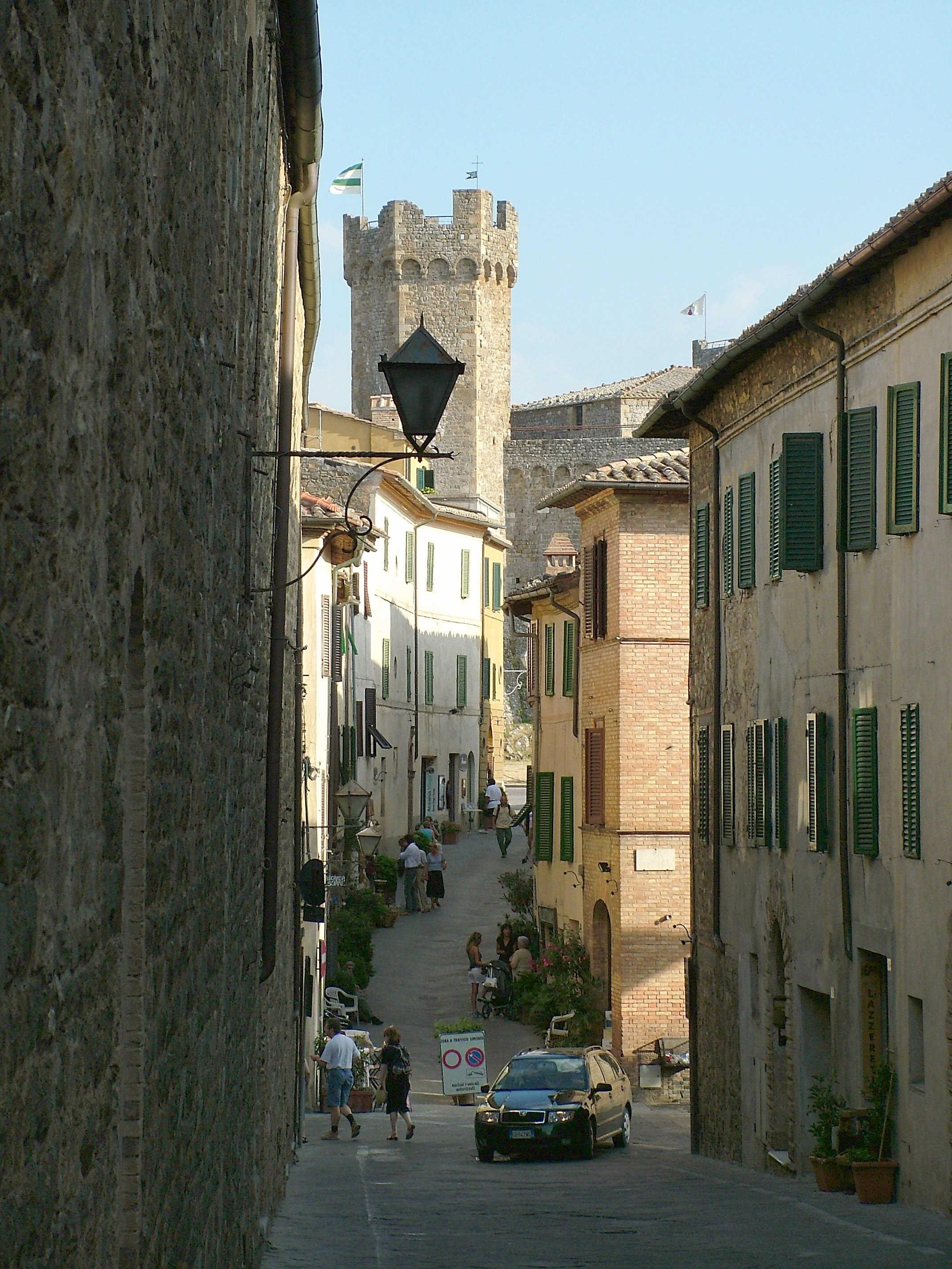 Brunelo, Montalčino, Toskana