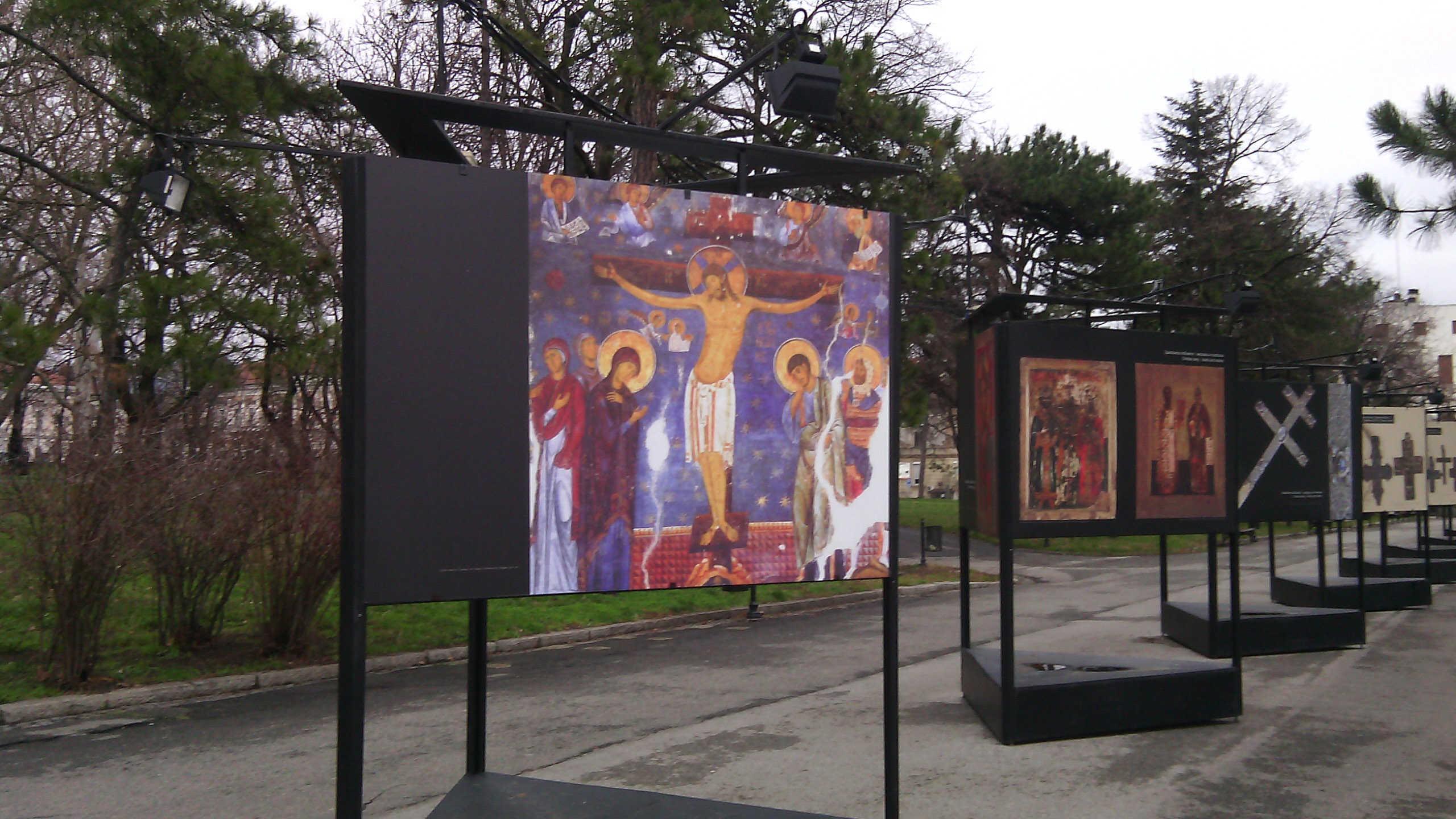 Kalemedgan, izložbe o hrišćanstvu