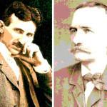 Nikola Tesla i Jovan Jovanović Zmaj