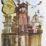 Dragan Coha, O snovima jednog grada, izložba