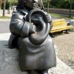Figura Momo u Hanoveru na Trgu Mihaela Endea