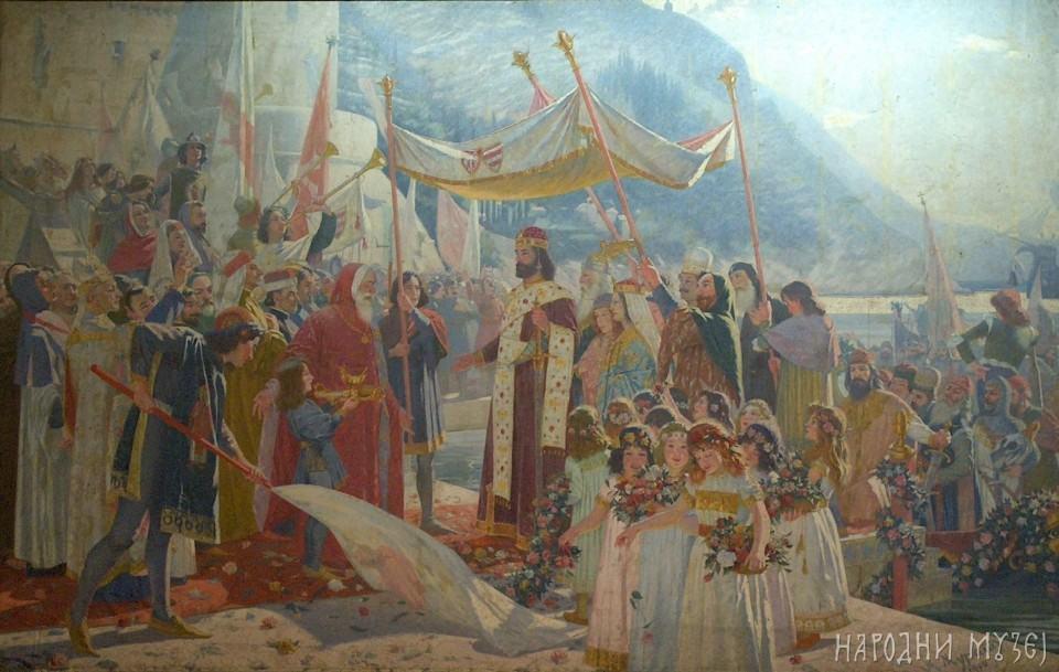 Ulazak cara Dušana u Dubrovnik