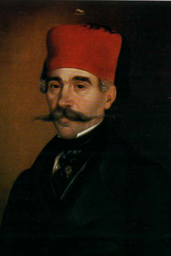 Portret Vuka Karadžić, autor Uroš Knežević, Narodni muzej, beograd