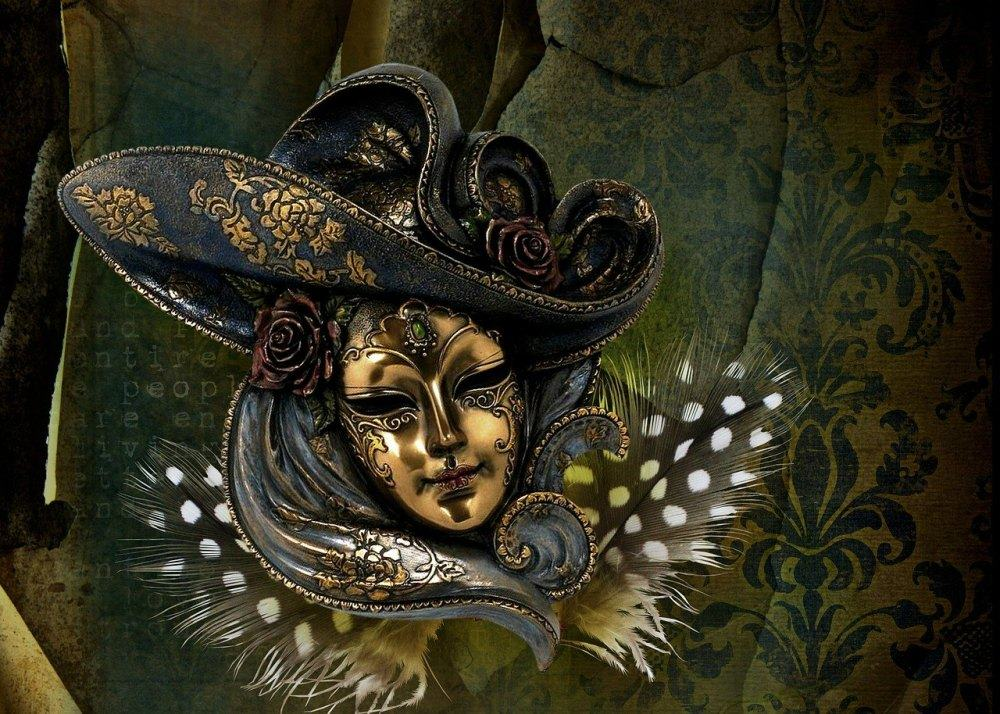 venecija, maske, karneval