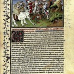 Marko Polo - Milion, stranica rukopisa, Bodleana, Oksford