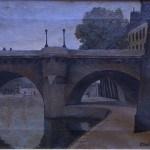 Živorad Nastasijević - Pont Neuf u Parizu, 1922, Muzej rudničko-takovskog kraja, Gornji Milanovac