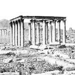 Palmyra 1914, ruins