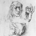 Albreht Direr: Autoportret sa jastukom, 1491-1492, Muzej Metropoliten, Njujork