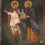 Ktitorski portret arhiepiskopa Danila II, Pećka Patrijaršija, foto Dragan Bosnić i ARTIS CENTAR