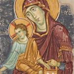 Freska Bogorodica Ljeviška, foto Dragan Bosnić