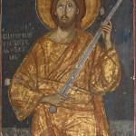 Hrist sa mačem, Dečani, foto D. Bosnić za Blago Srbije
