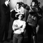 """Mediala - """"Proglašavanje"""", na fotografiji: Sveta Samurović, Olja Ivanjicki, Milić od Mačve i Kosta Bradić, iz arhivve Fonda Olge Olje Ivanjicki"""
