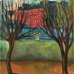 Sava Šumanovic, pariski pejzaž, krajolik, slike iz Pariza, Sena, Sumanovic,