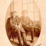 MIlutin Uskoković sa bratom Dragutinom, 1911. Švajcarska, arhiva Narodne biblioteke Užice