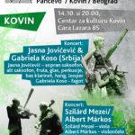 Program NOVA Festivala – Kovin, Pančevo i Beograd