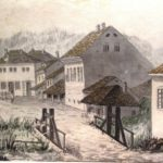 akvarel grocanke carsije, 1880