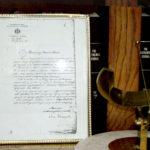 Dokument o osnivanju Opservatorije, Foto: AOB