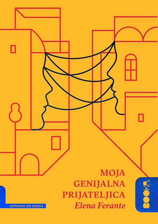 Elena Ferante, Moja genijalna prijateljica, Booka, Beograd