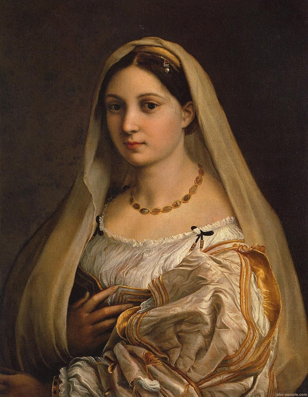 RAFAEL, La Velata - Žena sa velom, Palazzo Pitti, Firenca